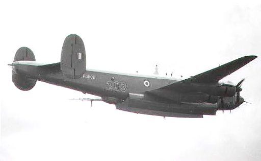 Shackleton WR957/J of 203 Sqn
