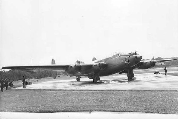 Shackleton WL751/N of 204 Squadron