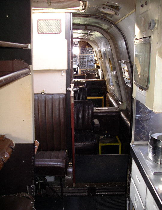 Shackleton Interior - Rest and Galley Area