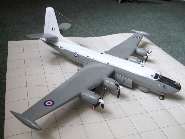 A model of a the Shackleton Mk4 Proposal