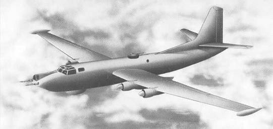 An impression of the proposed Mk4 Shackleton